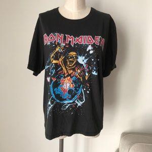 Daydreamer Iron Maiden World Piece Tour '88 Top